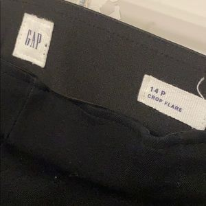 Gap Crop Flare Dress pants